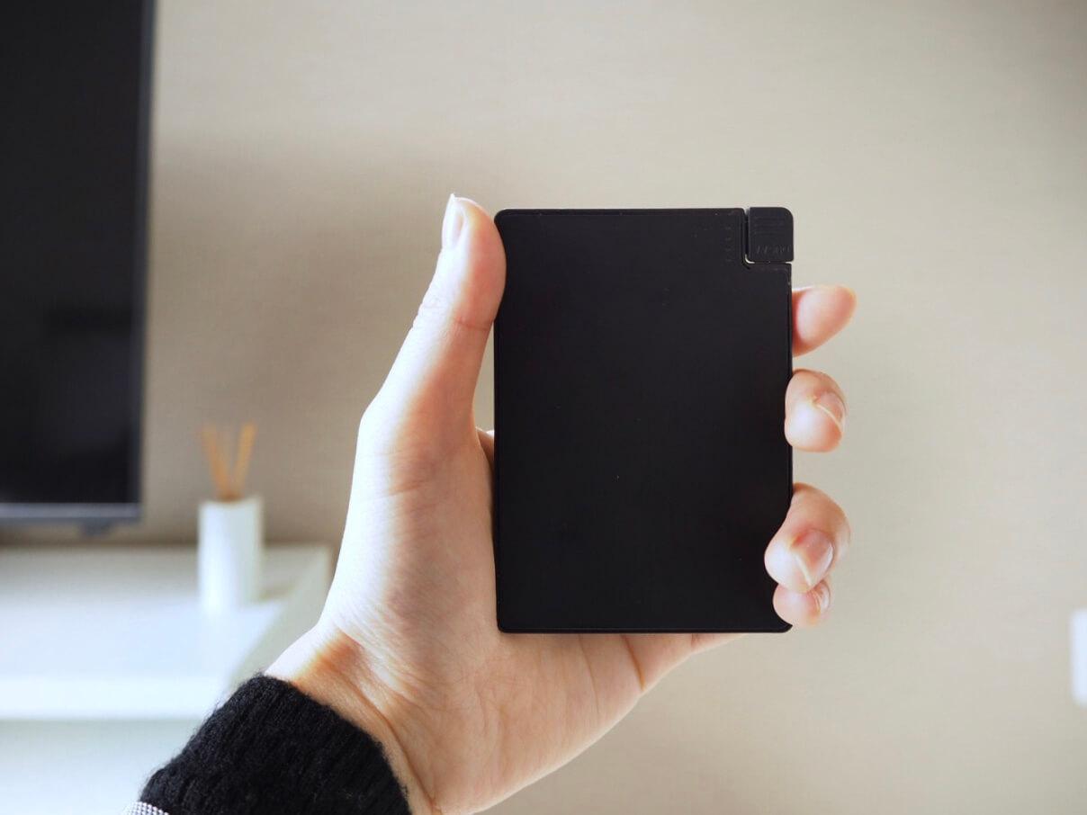 モバイルバッテリー 小さい